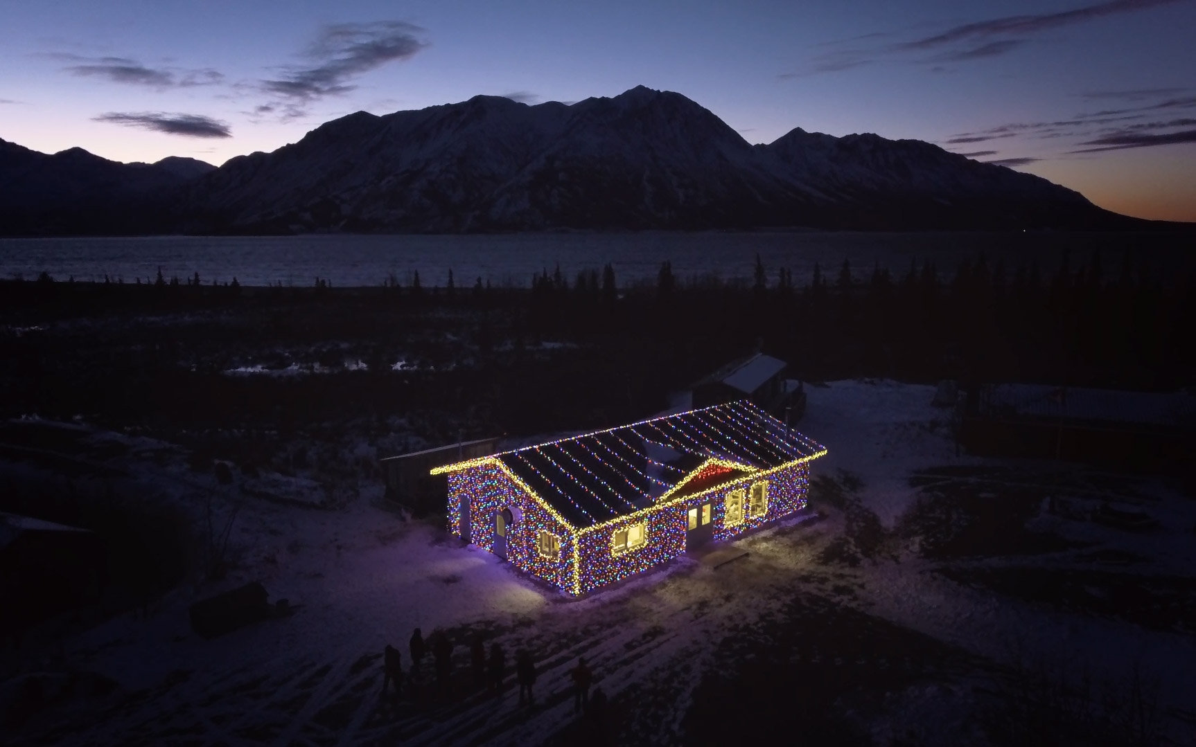 Canadian Tire Noma Lights - A House Covered in Lights - Fuse Marketing