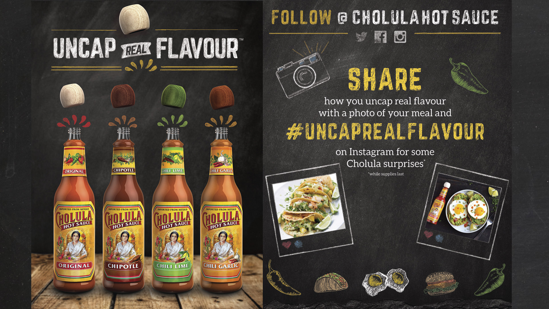 Cholula Hot Sauce Selection - Fuse Marketing