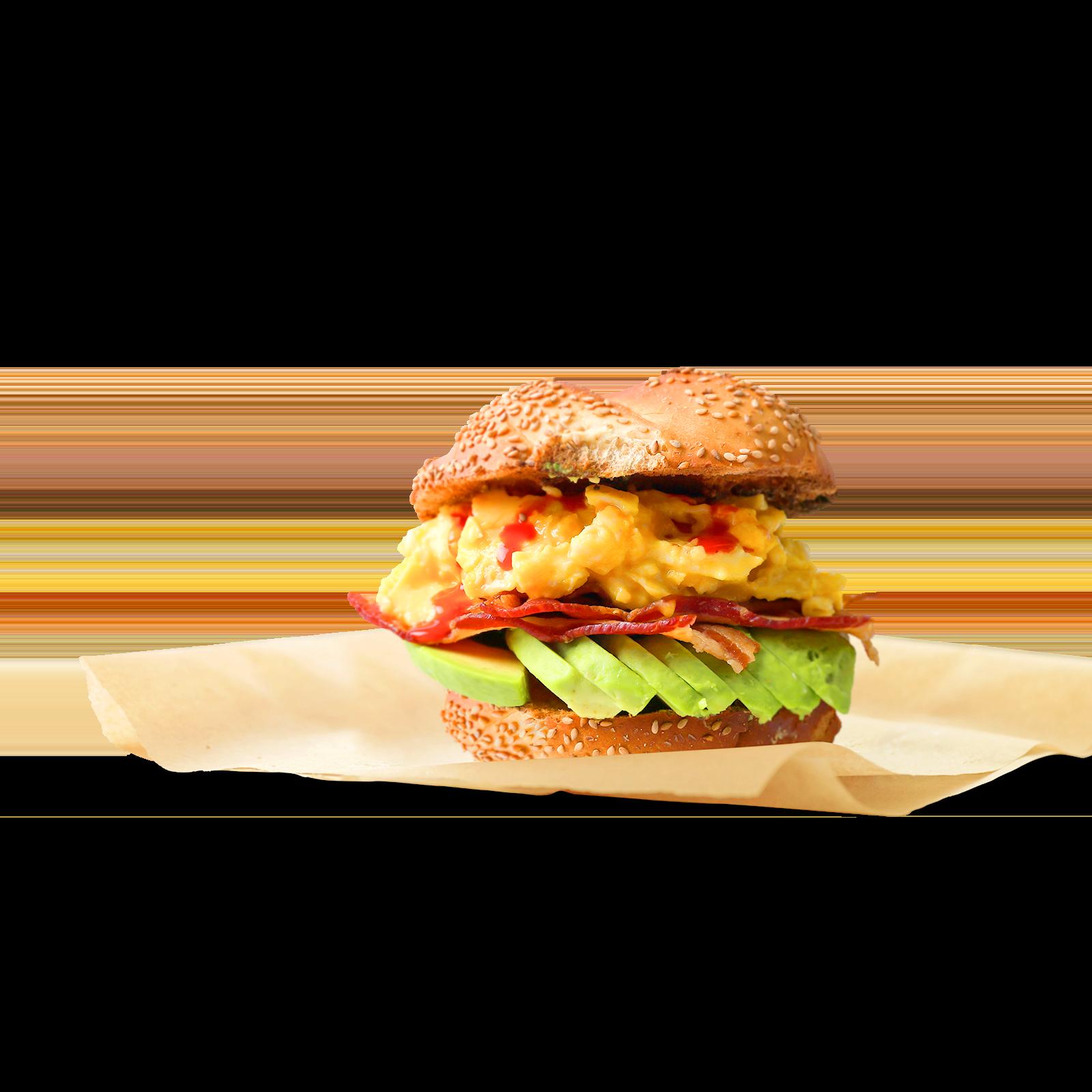Burger with Cholula Sauce - Fuse Create