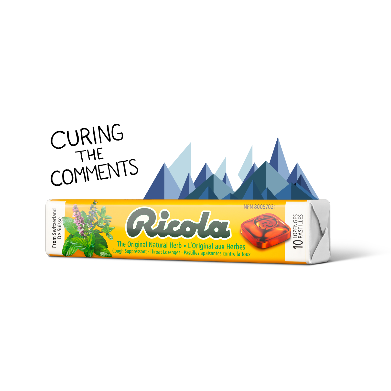 Ricola Cough Drops - Fuse Create
